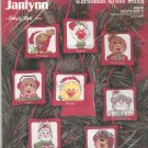 Janlynn Suzy's Zoo II Christmas Ornaments 38-82 Cross Stitch In Package