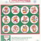 Dimensions Mouse L Toe Ornaments Amy Wulfing Christmas 8428 Cross Stitch In Package