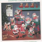 Sunset Santa Family Ornaments David Gregory Cross Stitch Kit In Package 18334