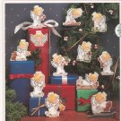Sunset Holly Angel Ornaments Ruth Morehead Cross Stitch Kit In Package 18318