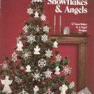 Crocheted Snowflakes & Angels Wilma Stash Leisure Arts 255