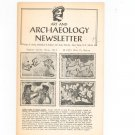 Vintage Art And Archaeology Newsletter Number 30/31 Otto Reiss