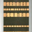 Vintage Grammar For Reading German Bergethon Houghton Mifflin Company