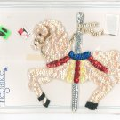 Elegance Large Carousel Horse Style SM717 In Package