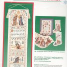 Dimensions Nativity Bell Pull Banner Cross Stitch Kit In Package 8406
