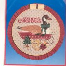 Dimensions Heirloom Hoop Merry Christmas Cross Stitch Kit In Package 8348