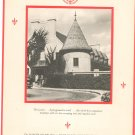 Vintage Manoir Richelieu Murray Bay P.Q. Dinner Menu June 1952