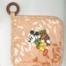 Vintage Walt Disney Productions Mickey Potholder Pot Holder