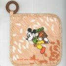 Vintage Walt Disney Productions Mickey Potholder Pot Holder