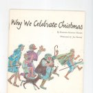 Vintage Why We Celebrate Christmas by Barbara Kinney Hargis United Church Press