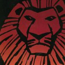 The Lion King The Broadway Musical  Souvenir Program