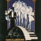 Duke Ellington's Sophisticated Ladies Souvenir Program 1981