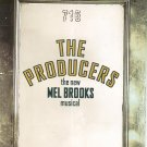 The Producers  Souvenir Program The New Mel Brooks Musical