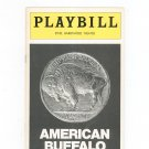 Vintage American Buffalo Playbill Ethel Barrymore Theatre 1977 Souvenir
