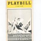 Vintage On The Twentieth Century Playbill St. James Theatre 1978 Souvenir