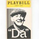 Vintage Da Playbill Morosco Theatre 1978 Souvenir