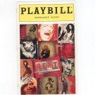 Rent Playbill Nederlander Theatre 1996 Souvenir