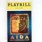 Aida Playbill Palace Theatre 2000 Souvenir