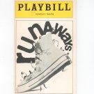 Runaways Plymouth Theatre Playbill Souvenir