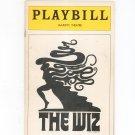 The Wiz Majestic Theatre Playbill 1975 Souvenir