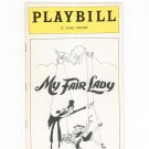 My Fair Lady St. James Theatre Playbill 1976 Souvenir