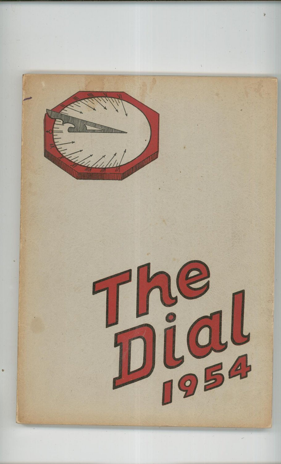 1954 The Dial Yearbook Year Book Buffalo New York South Park High School
