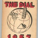 1957 The Dial Yearbook Year Book Buffalo New York South Park High School