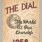 1958 The Dial Yearbook Year Book Buffalo New York South Park High School