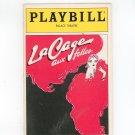 Playbill La Cage Aux Folles Palace Theatre Souvenir Volume 3 Number 11