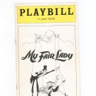 My Fair Lady Playbill St. James Theatre 1976 Souvenir