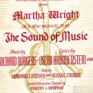 The Sound Of Music Selection For The Wurlitzer Organ 4100 4460 4602
