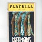Dreamgirls Playbill Imperial Theatre 1982 Souvenir