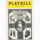 The Crucifer Of Blood Playbill Helen Hayes Theatre 1979 Souvenir