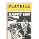 Happy End Playbill Martin Beck Theatre 1977 Souvenir