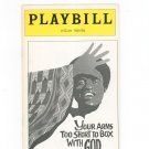 Your Arms Too Short To Box With God Playbill Lyceum Theatre 1977 Souvenir