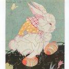 Vintage Rabbit Puzzle Fern Bisel Peat In Booties