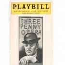 Three Penny Opera Playbill Vivian Beaumont Theatre 1976 Shakespeare Festival Souvenir