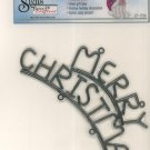 Merry Christmas Wrought Iron Sign Bevel Crafters 27-175K