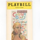 For Colored Girls Who Have Considered Suicide When The Rainbow Is Enuf Playbill 1976