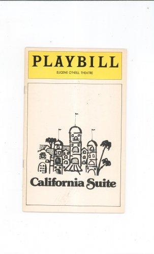 California Suite Playbill Eugene O'Neill Theatre 1976 Souvenir