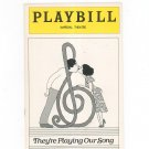 They're Playing Our Song Playbill Imperial Theatre 1979 Souvenir