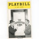 The Producers New Mel Brooks Musical Playbill St. James Theatre 2002 Souvenir