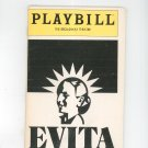 Evita Playbill The Broadway Theatre 1982 Souvenir