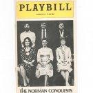 The Norman Conquest Playbill Morosco Theatre 1976 Souvenir