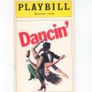 Dancin Playbill Broadhurst Theatre 1978 Souvenir