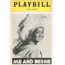 Me And Bessie Playbill Edison Theatre 1976 Souvenir