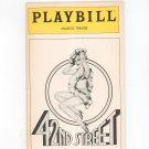 42nd Street Majestic Theatre Playbill Souvenir  1981