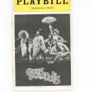 Guys And Dolls Playbill The Broadway Theatre 1976 Souvenir