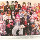 Vintage Eastman Kodak Damascus Shrine Circus Clowns Print