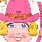 Vintage Denny's Sheriff Sue Kids Menu Number 12  1983